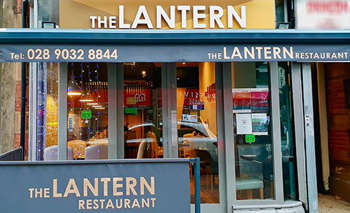 The Lantern Belfast Belfast Byo Restaurant City Centre