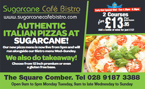 Sugarcane Cafe Bistro Comber Places To Eat In Comber