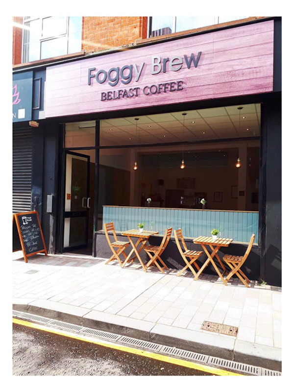 Foggy Brew Belfast Independent Coffee Shop Belfast