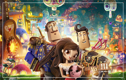 For a film that deals with mortality, there's a surprising amount of vibrancy and colour in this sweetened family friendly Mexican fairytale about love and death. Written and directed by award-winning...