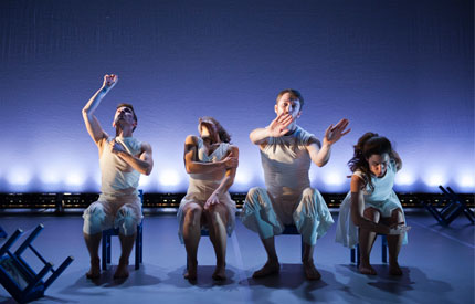 The instantly likeable and relentlessly inventive Quartet For Fifteen Chairs is classic Maiden Voyage Dance, brought alive from beginning to end with the poise, personality and physicality we have come to expect ...