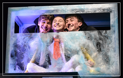 An innovative, ingenious window into the positive possibilities of childlike imagination from the eyes of individuals, pairs and parents, Cahoots NI's Penguins, produced in association with Birmingham Repertory Theatre and ...