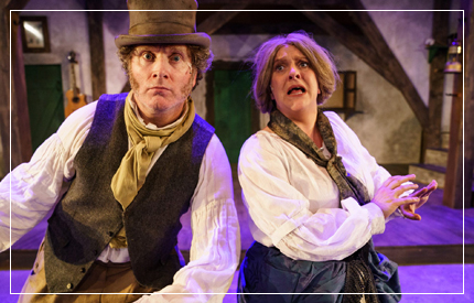 What's most staggering about Dion Boucicault's The Colleen Bawn, adapted for the Lyric stage by Lisa May and her Bruiser Theatre Company, is that beneath its hyperactive hijinks ...