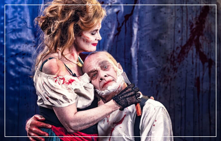 If you asked me to describe NI Opera's production of Stephen Sondheim and Hugh Wheeler's Sweeney Todd: The Demon Barber Of Fleet Street in three words, I would choose: imagination, ambition, character ...