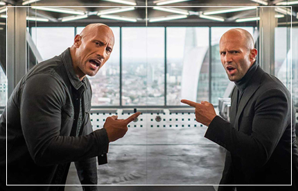 I'm going to get straight to the point – this is the most ridiculous, over-the-top, let's-just-do-it-because-we-can, macho bro-fest I have ever seen. Now, I've not seen a Fast & Furious film since ...
